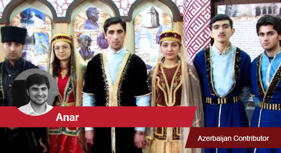 Traditional Azerbaijani dress