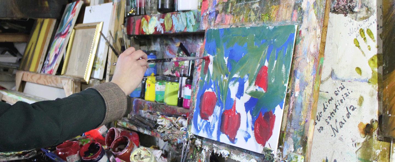 Artist in Azerbaijan